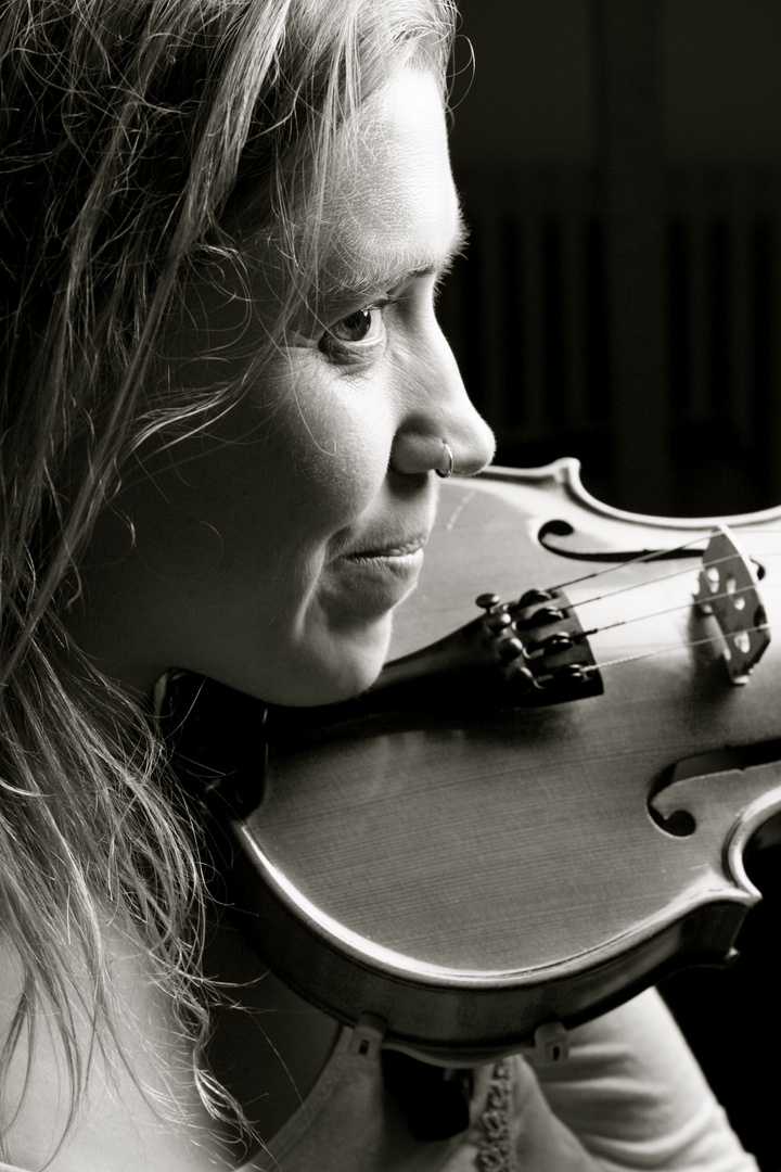 mit der Geige II
