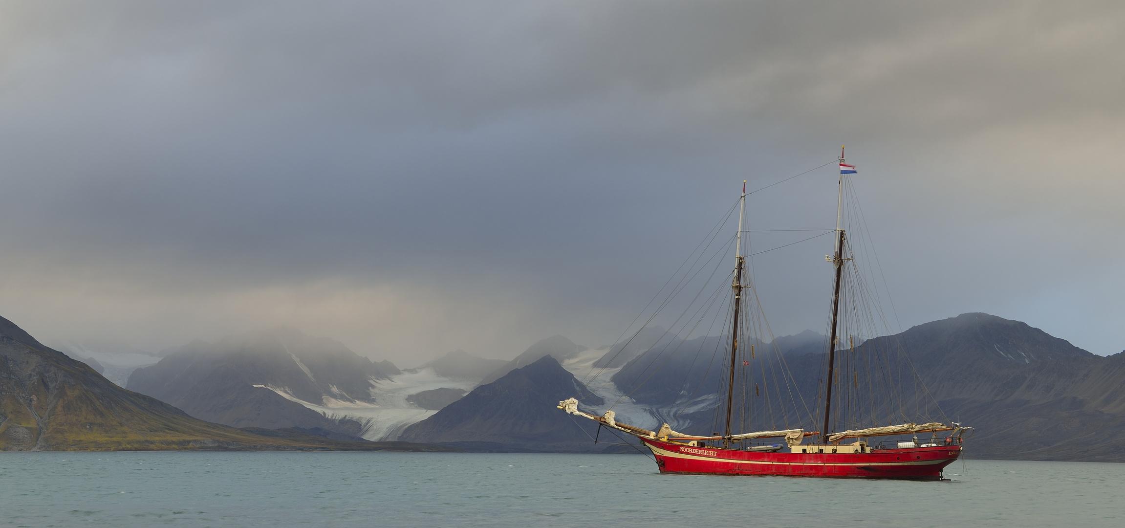 Mit der Noorderlicht in Spitzbergen