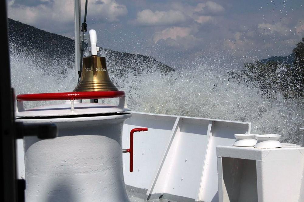 """Mit der """"Prinz Eugen"""" auf der Donau in der Wachau"""