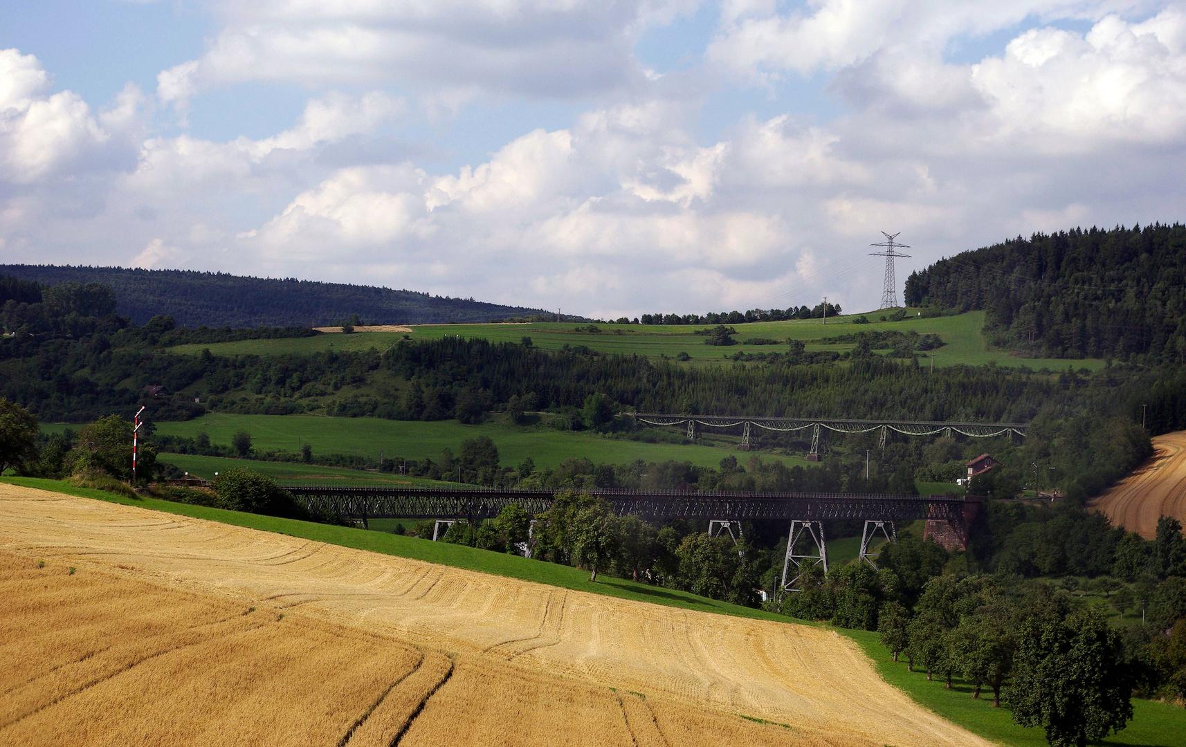 """mit der """"Sauschwänzle"""" durch den Südschwarzwald...."""