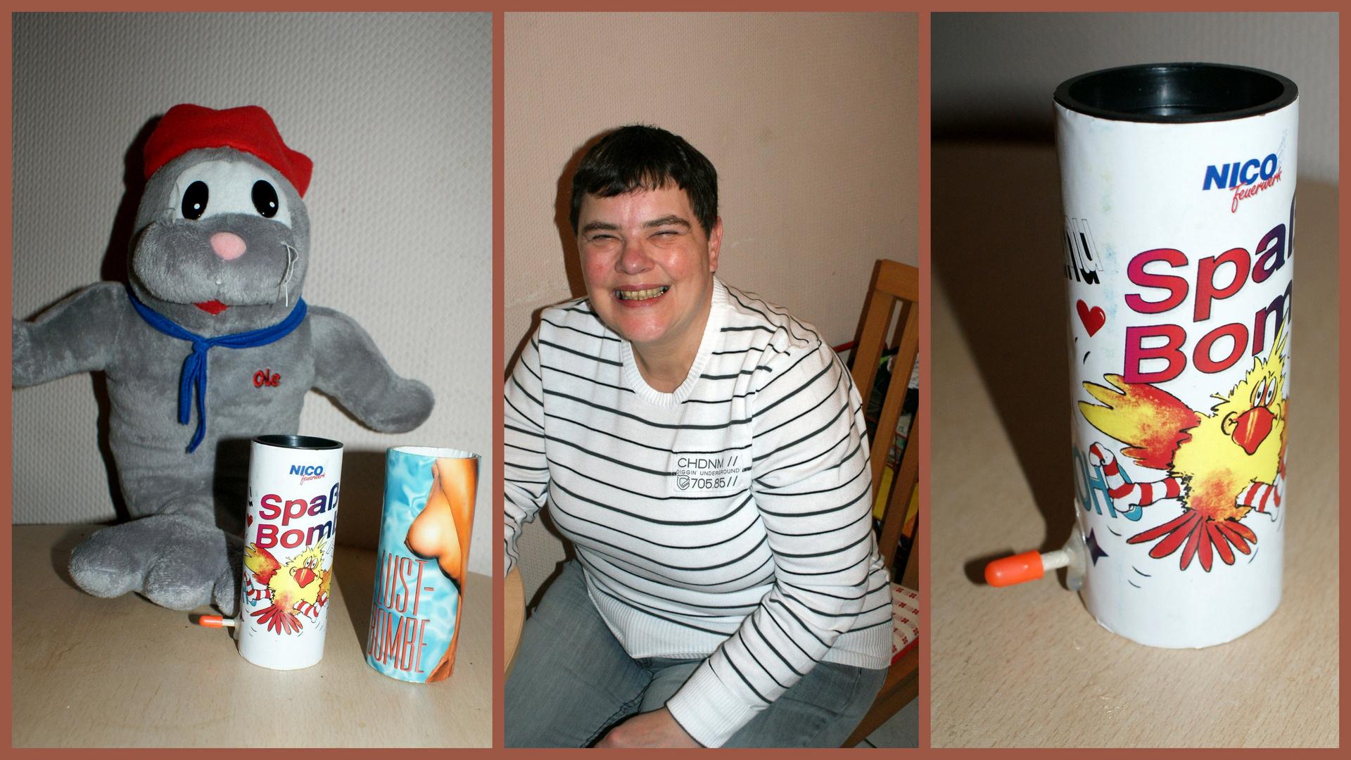 Mit der Spaßbombe in die Sylvesternacht ( 31 . 12 . 2011 )