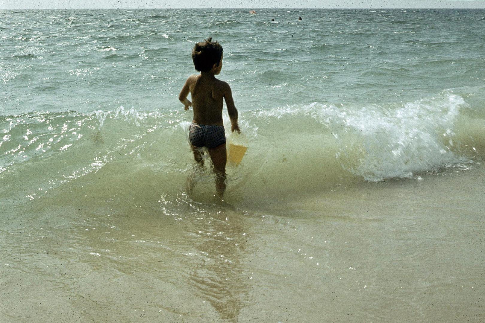 Mit der Welle spielen