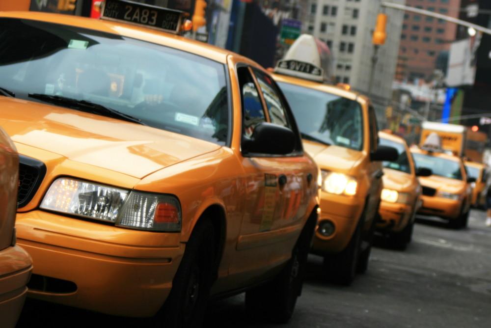 Mit einem Taxi nach Paris...ähm...NewYork
