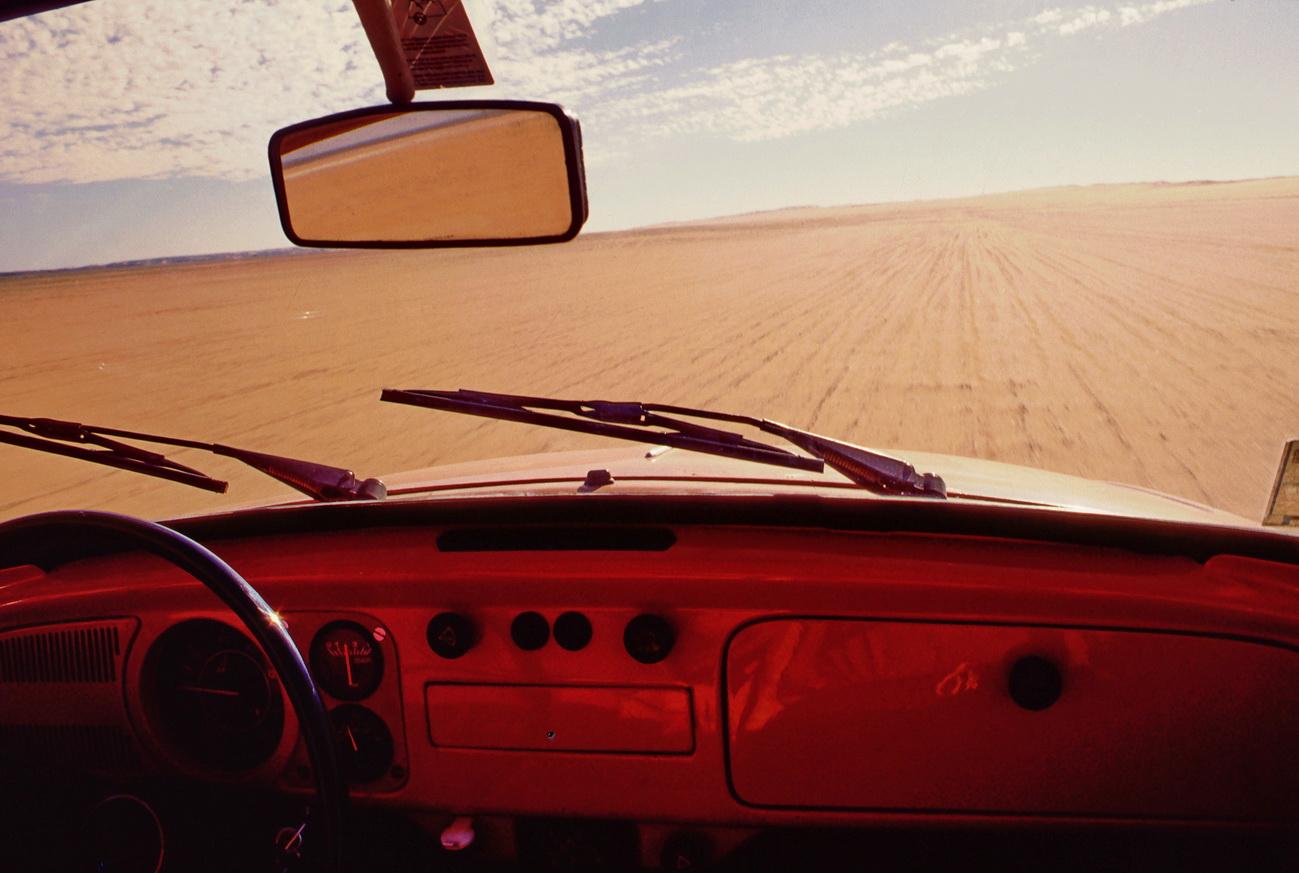 Mit einem VW-Käfer durch die Libysche Sahara