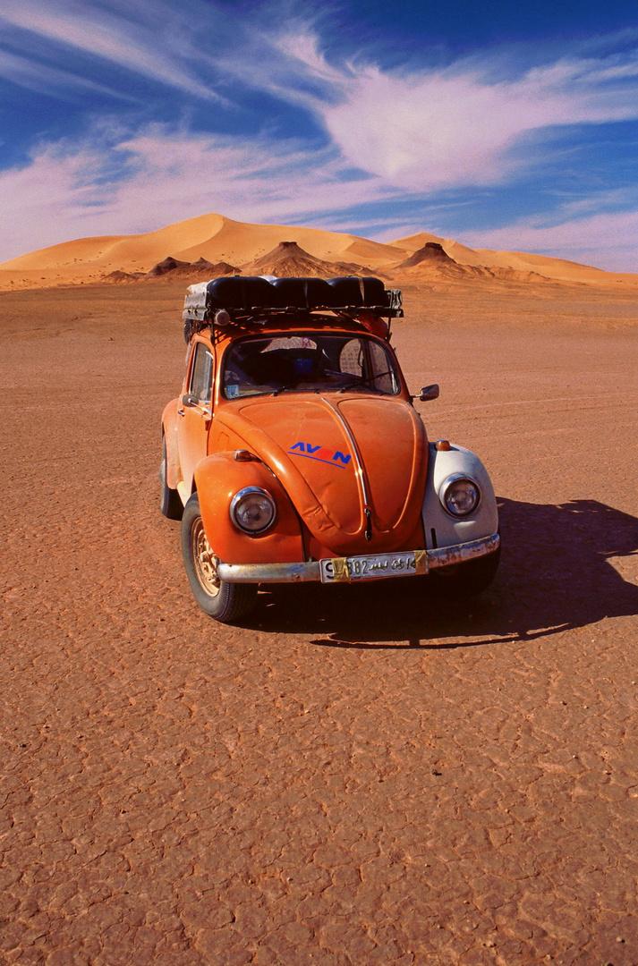 Mit einem VW-Käfer durch die Libysche Sahara/ Erg Ubari