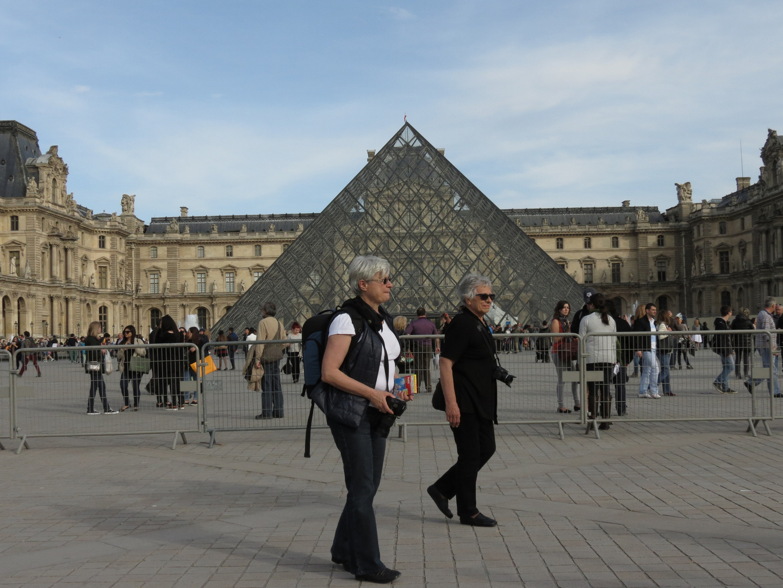 mit gre...u. Sybille in Paris
