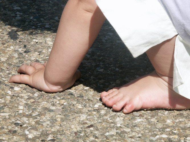 Mit Hand und Fuß...