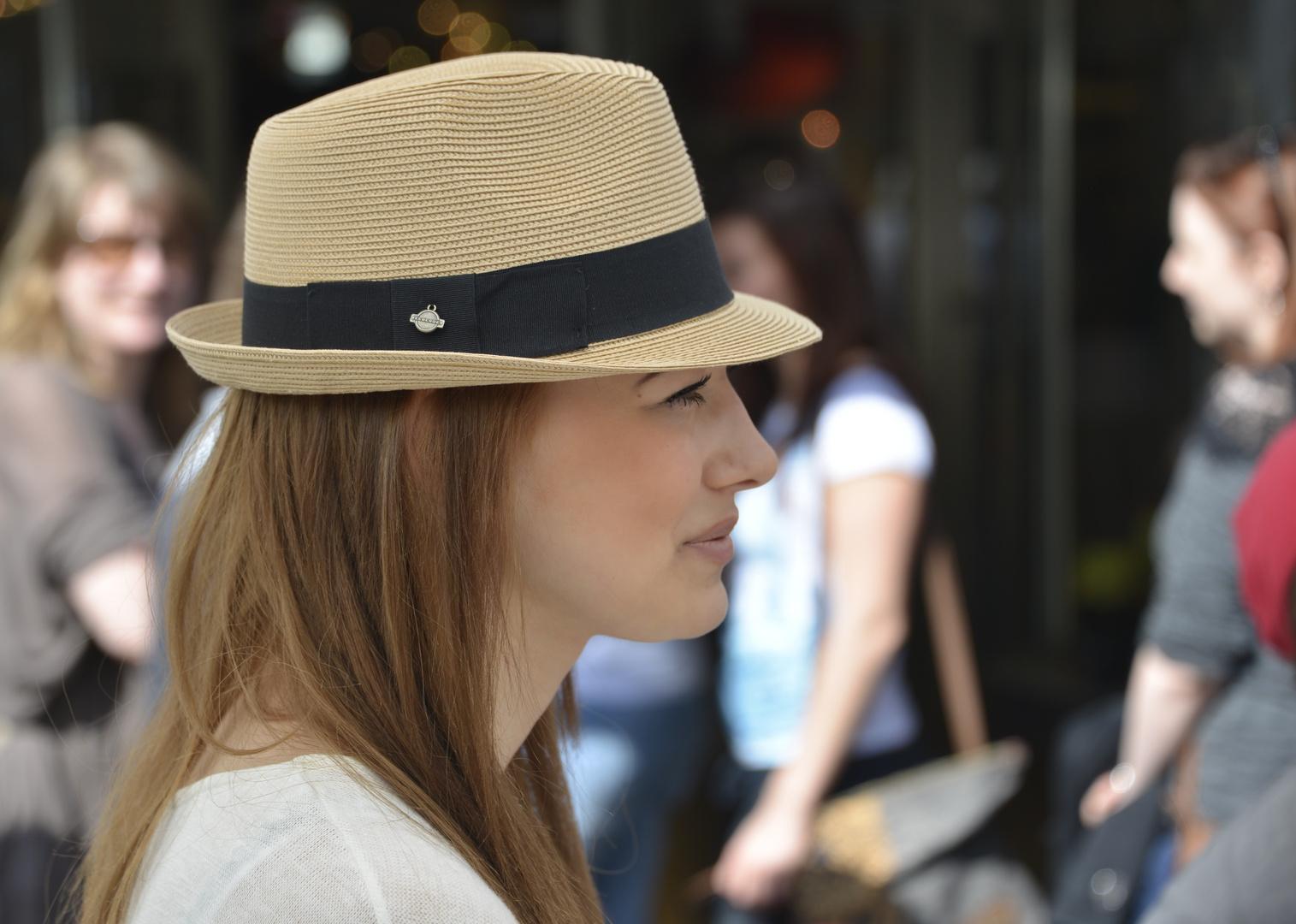 """""""Mit Hut und Haaren"""""""