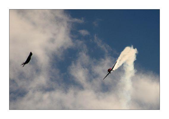 mit Kanonen auf Spatzen schießen war gestern.....