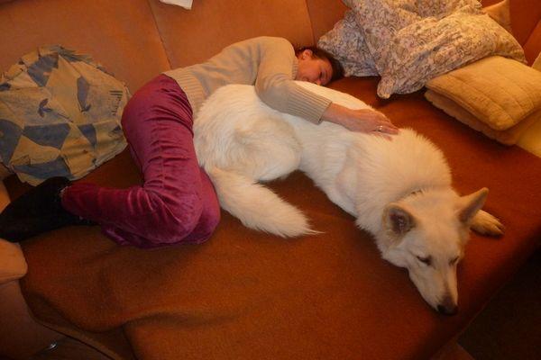 mit Mama auf der Couch chillen ;-)