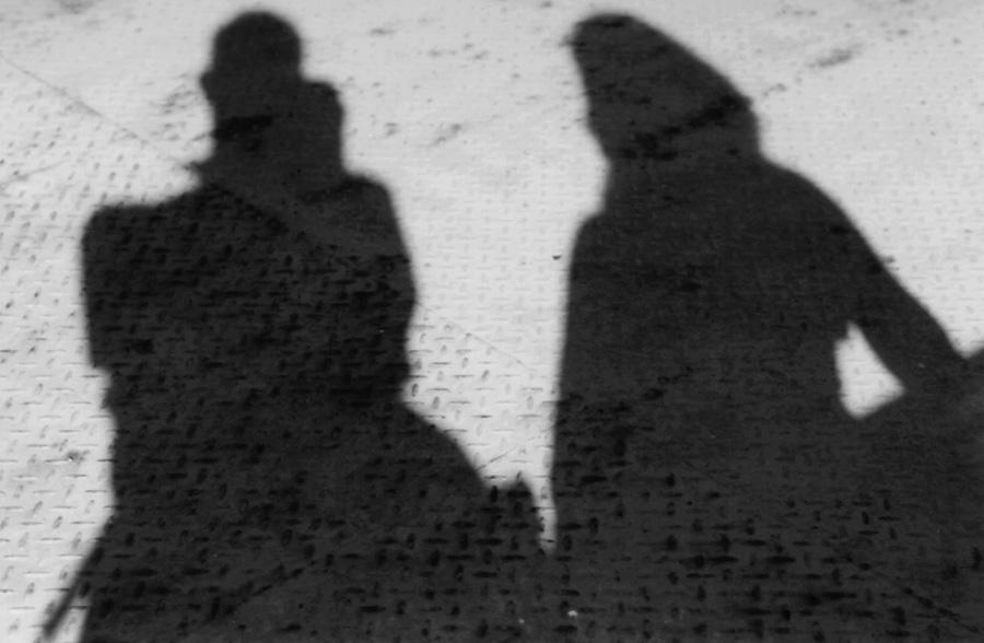 Mit meinem eigenen Schatten
