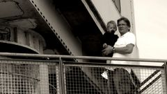 Mit meinem Enkel ( 04.2011) ......