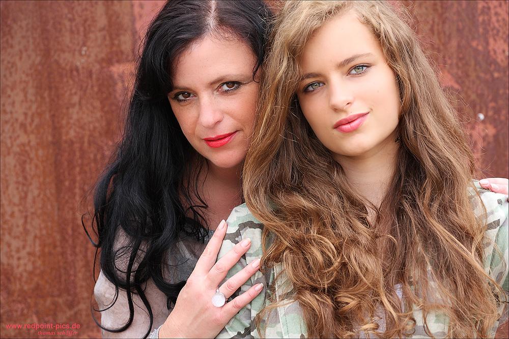 mit meiner Tochter... :-)