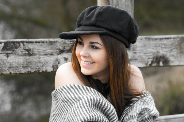 Mit Mütze