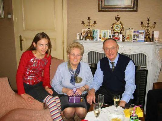Mit Oma und Opa