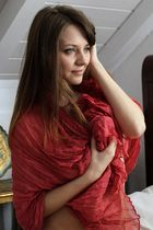 Mit Schal
