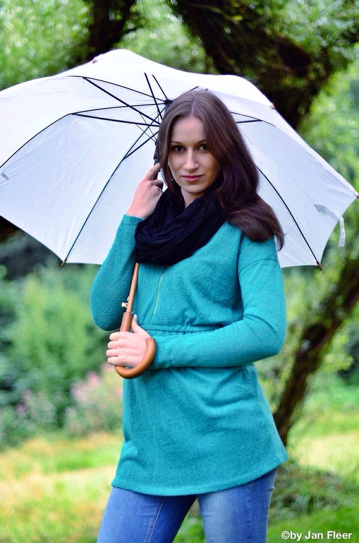 Mit Schirm und Charme