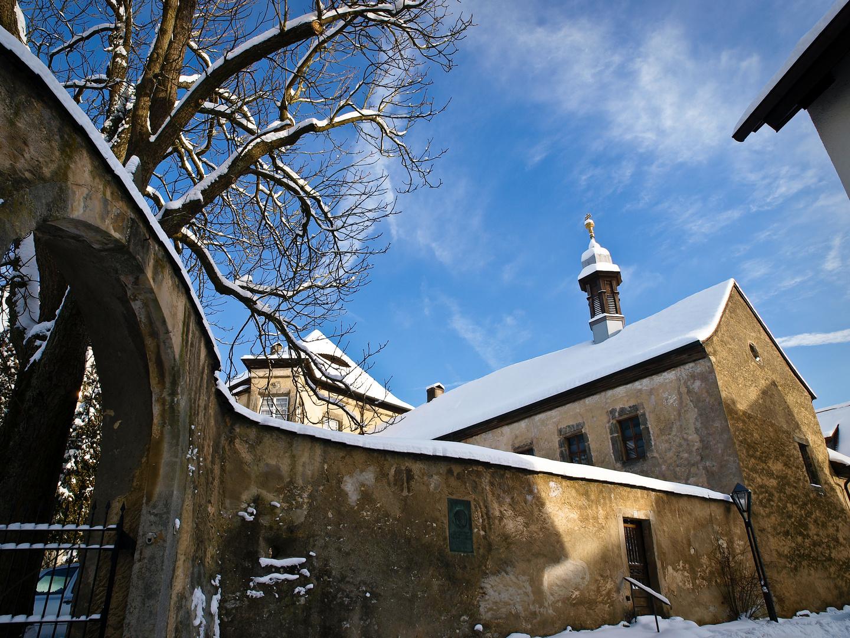 Mit Schloss Pretzfeld in der Fränkischen Schweiz....