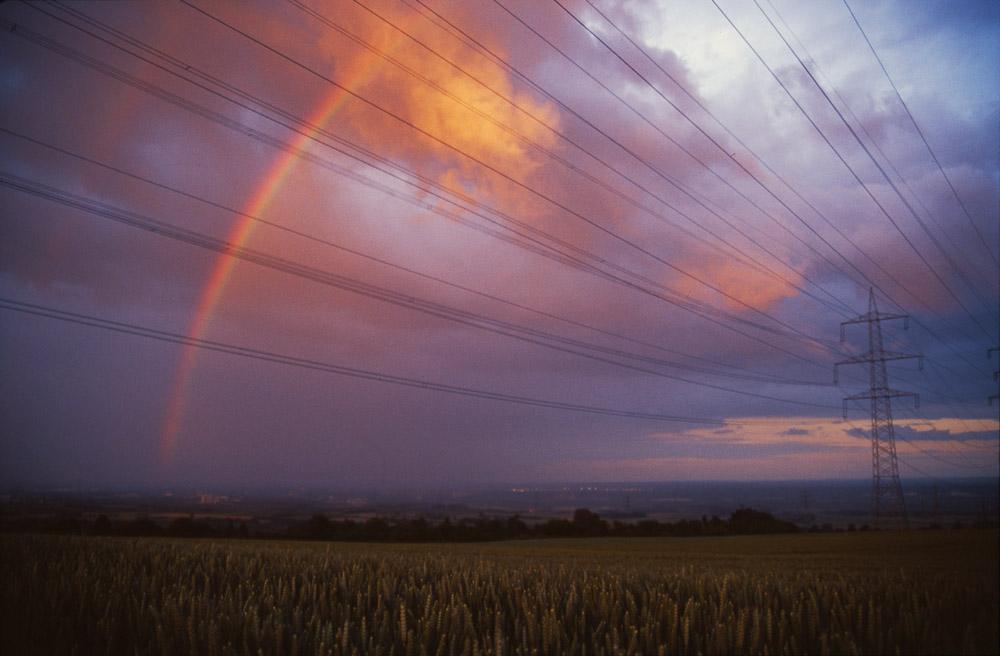 ...mit Sturm und Regen