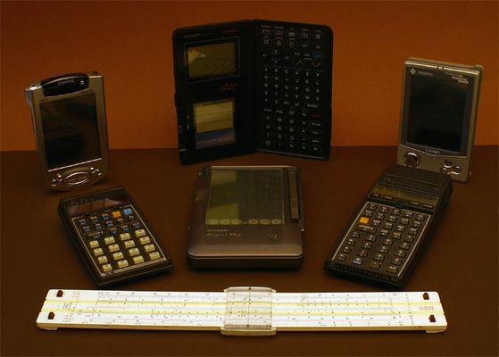 Mit Taschencomputern durch die Zeit