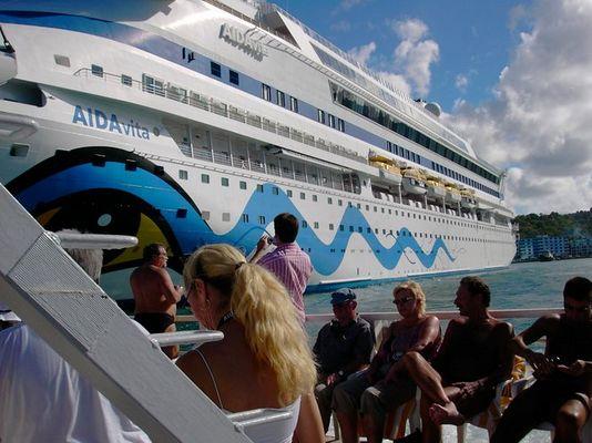Mit unserem Traumschiff in der Karibik