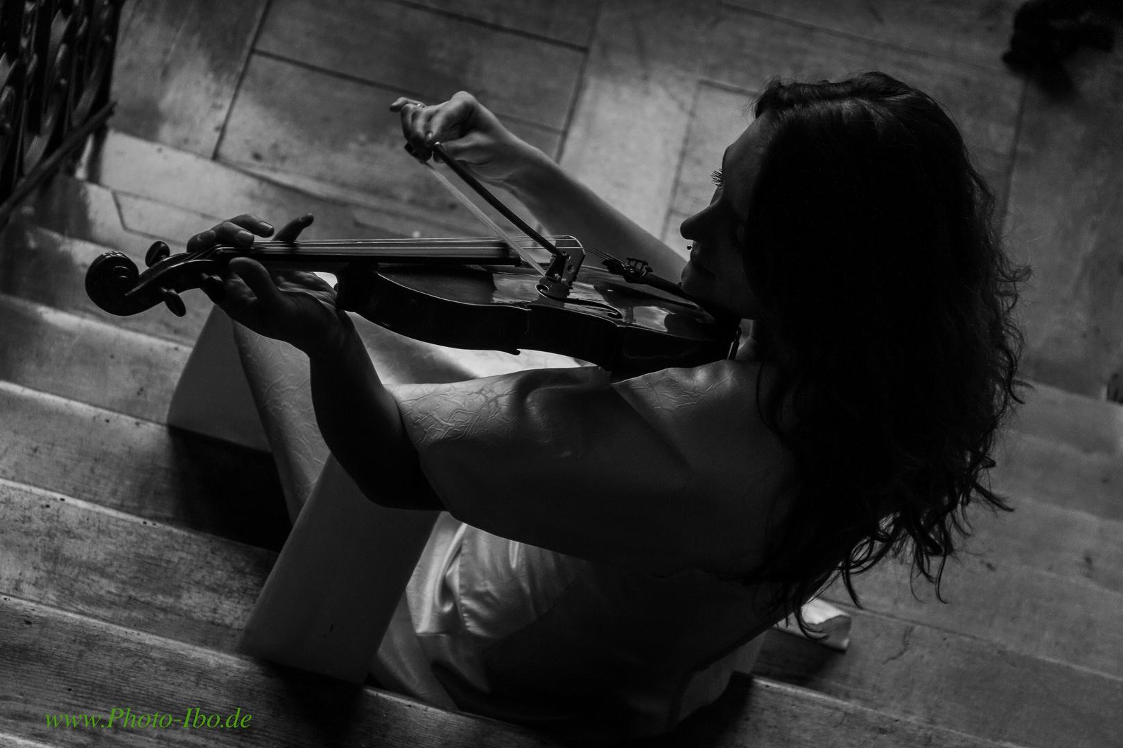 ..mit Violine i love