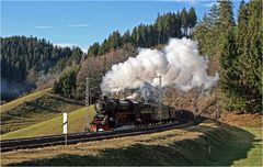 Mit Volldampf durch den Schwarzwald...