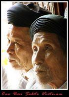 Mitglieder der CaoDai Sekte in Südvietnam