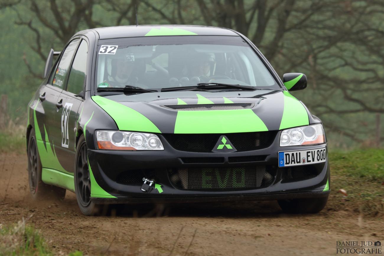 Mitsubishi EVO 8 - 30. ADAC Westerwald Rallye 200 2014