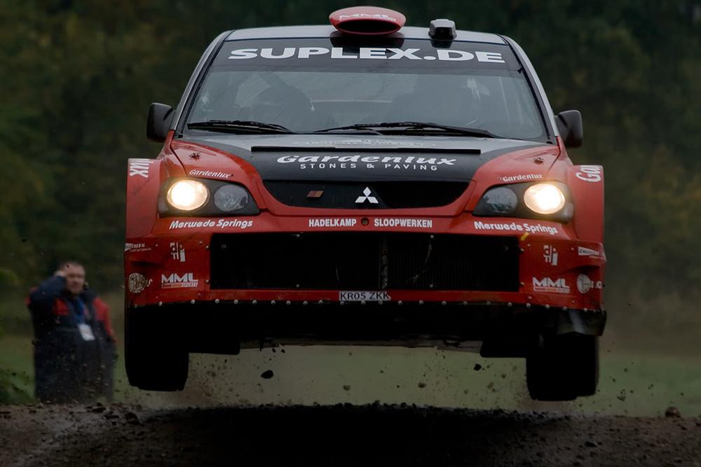 Mitsubishi Lancer WRC 05, oder....