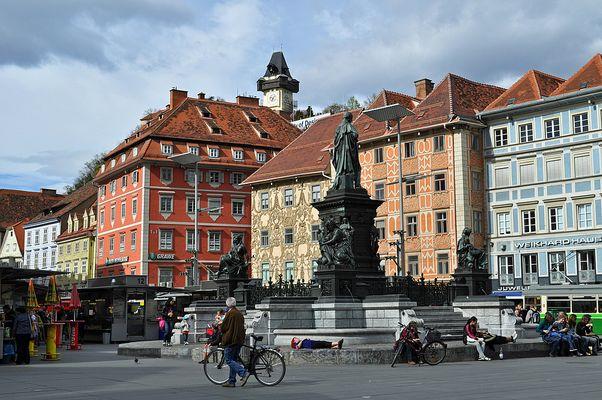 Mittag in Graz