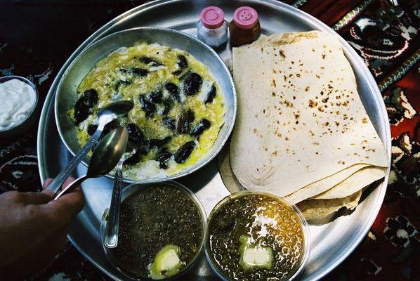 Mittagessen im nord iranischen Bergland