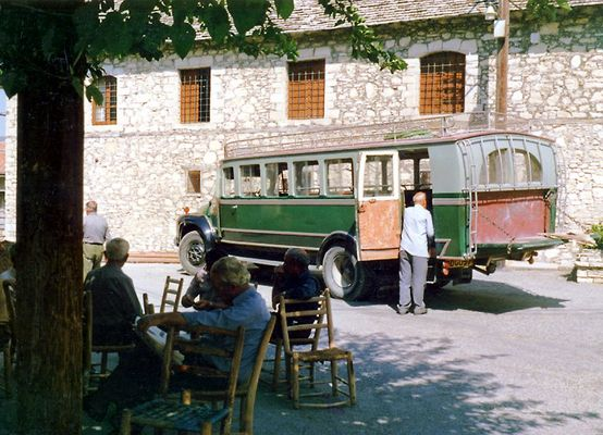 Mittags in einem zypriotischen Bergdorf