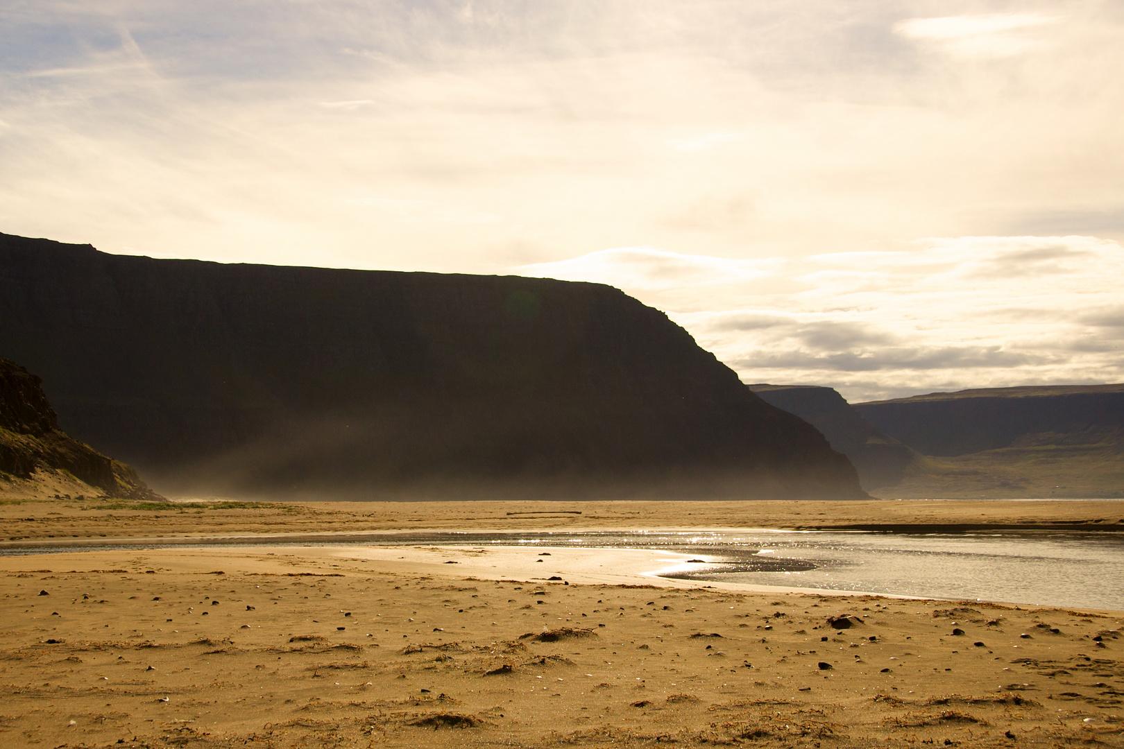 """Mittagslicht"" Hornstrandir, Island"