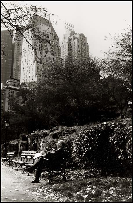 Mittagspause im Central Park / NY