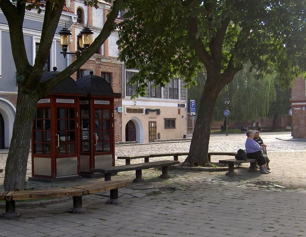 Mittagsruhe in Kaunas