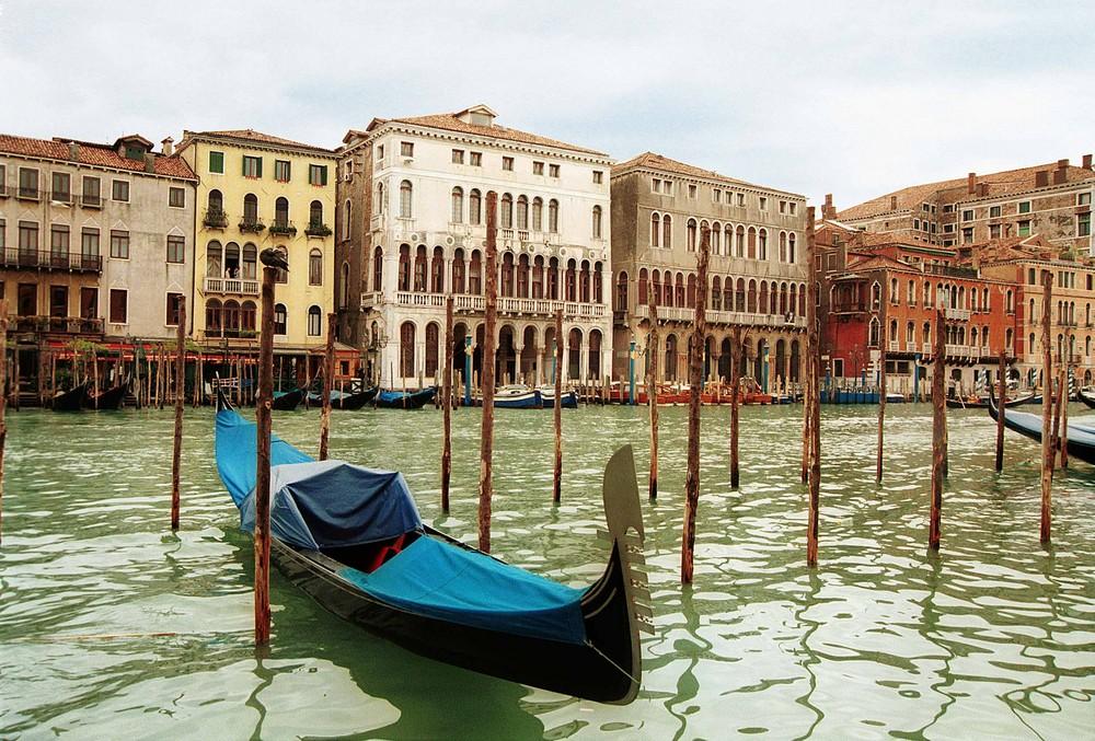 Mittagszeit am Canale Grande