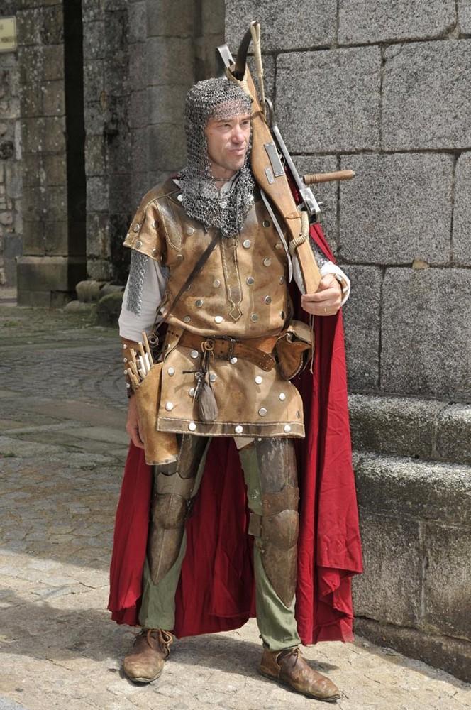 Mittelalter Festival in Egletons, Frankreich 2008. Foto 3.