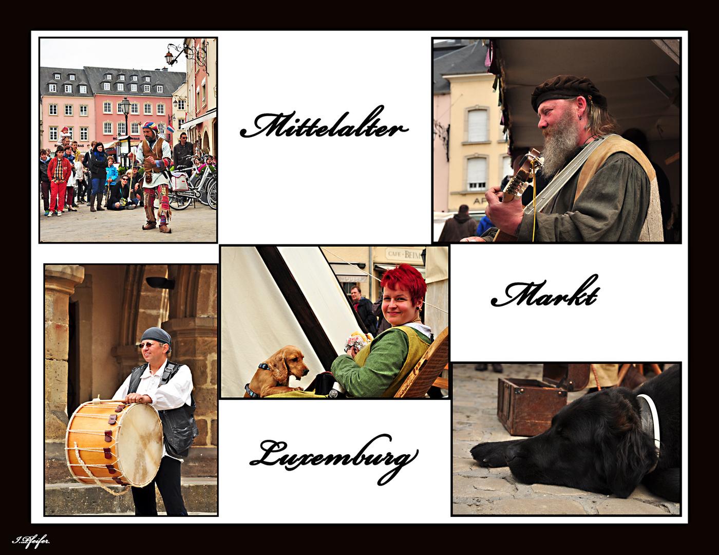 Mittelalter Markt Luxemburg