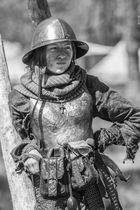 Mittelalter-Soldatin SW, Elfia 2013