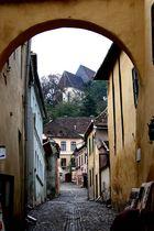 Mittelalterliche Impressionen in Schässburg s.u.