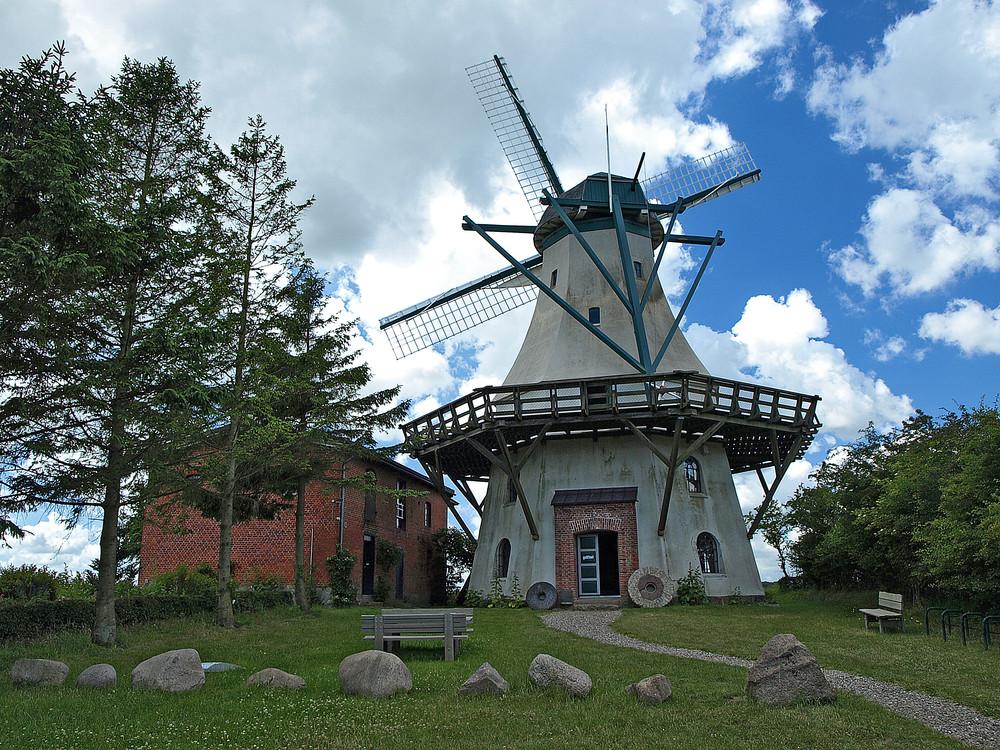 Mittelalterliche Mühle