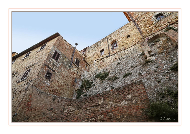 Mittelalterliche Stadtmauer Montepulciano