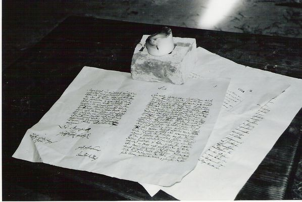 Mittelalterlicher Brief