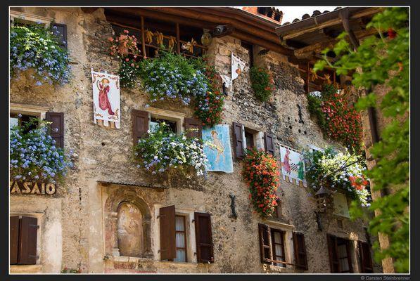 Mittelalterliches Dorf am Gardasee