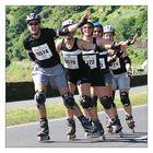 Mittelrhein-Marathon: Spass bei den Inlinern