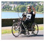 Mittelrhein-Marathon: Wahnsinnshitze, noch 20 km und strahlende Laune!