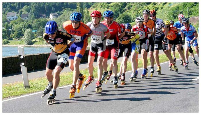 Mittelrhein-Marathon.....Schlange auf Räder (2)