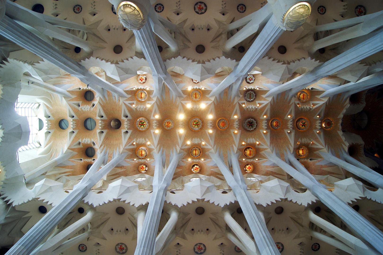 Mittelschiff der Sagrada Família