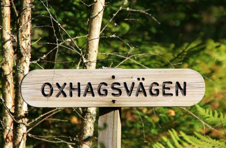 mitten im schwedischen Wald steht dieses Schild :o))